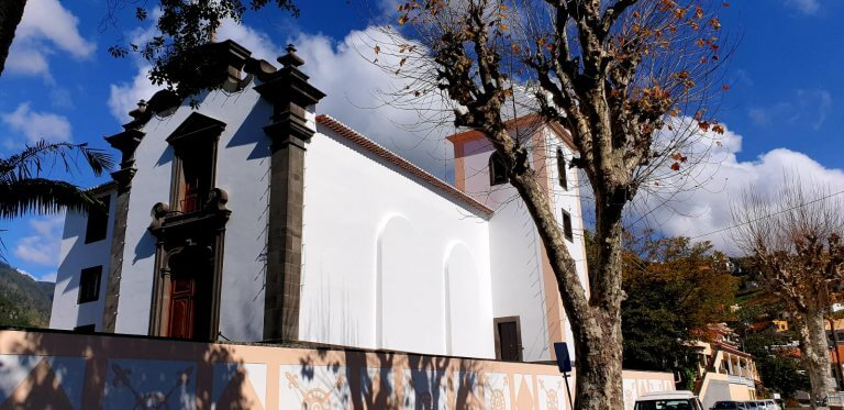 The famous Church in Lombada Ponta do Sol