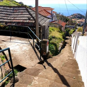 Getting back to the center of Lombada Ponta do Sol