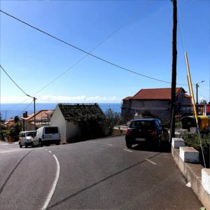 Crossroads in Lombada Ponta do Sol