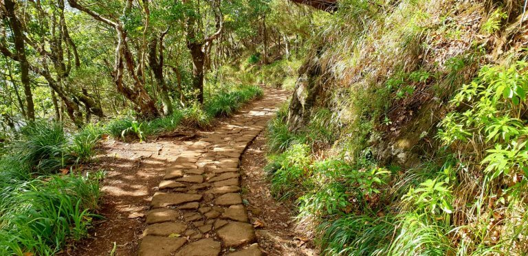 Old pathway to the Balcoes